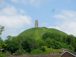 Glastonbury Tor View from Camelot retreat